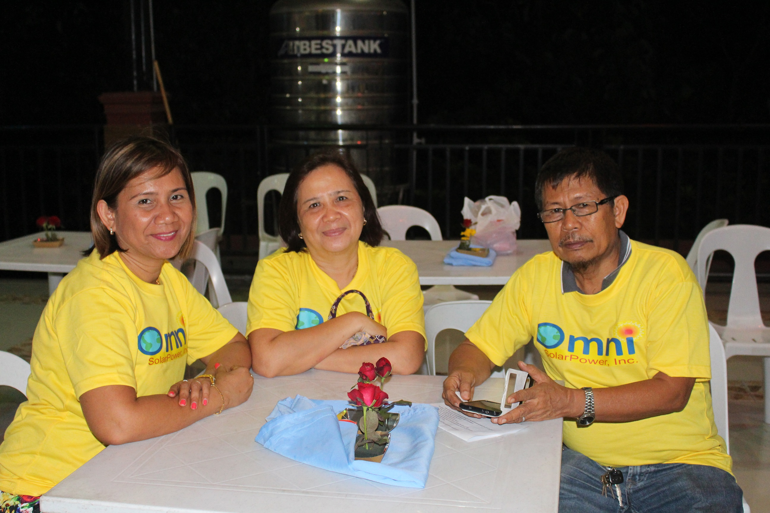 July 15, 2015 Business Launching with Engr. Bert Sollano and Wife